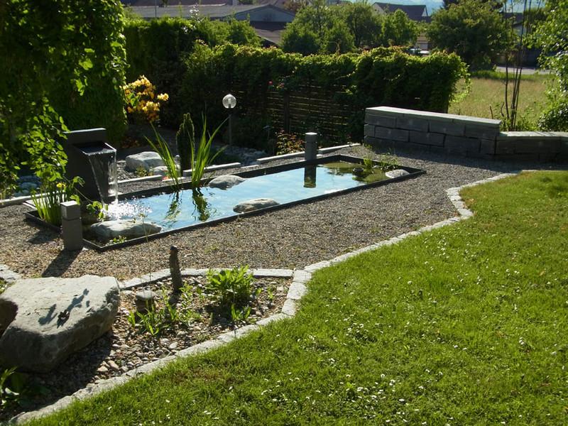 Umgebungsarbeiten tiefbau urs birchmeier ag bauunternehmung w renlingen - Gartengestaltung mit granitsteinen ...